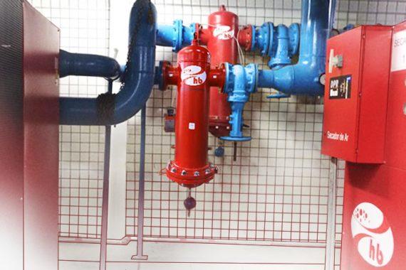 equipamentos para o tratamento de ar comprimido